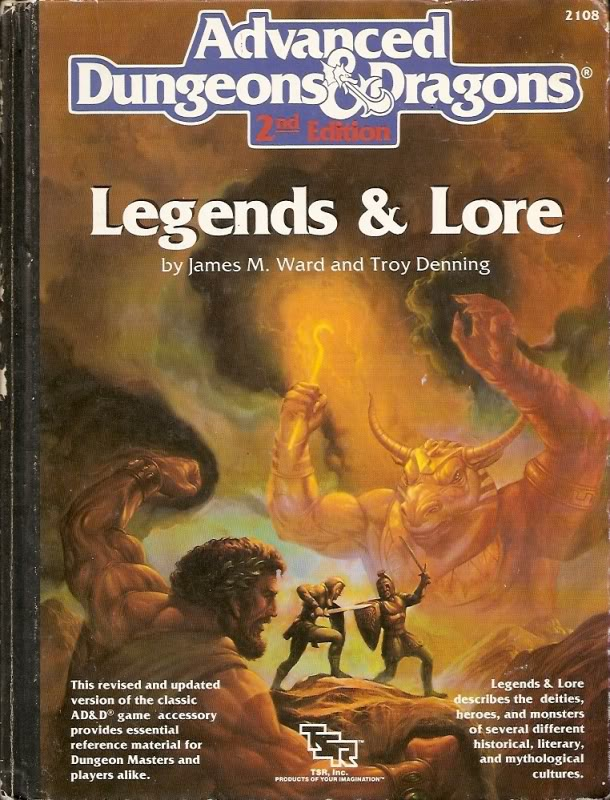 Legends & Lore (AD&D 2)