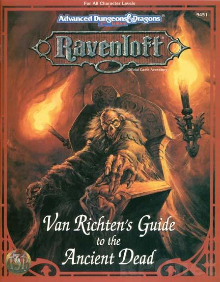 Van Richten's Guide to the Ancient Dead