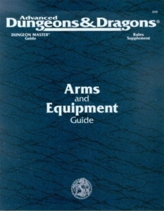Arms and Equipment Guide (AD&D 2)