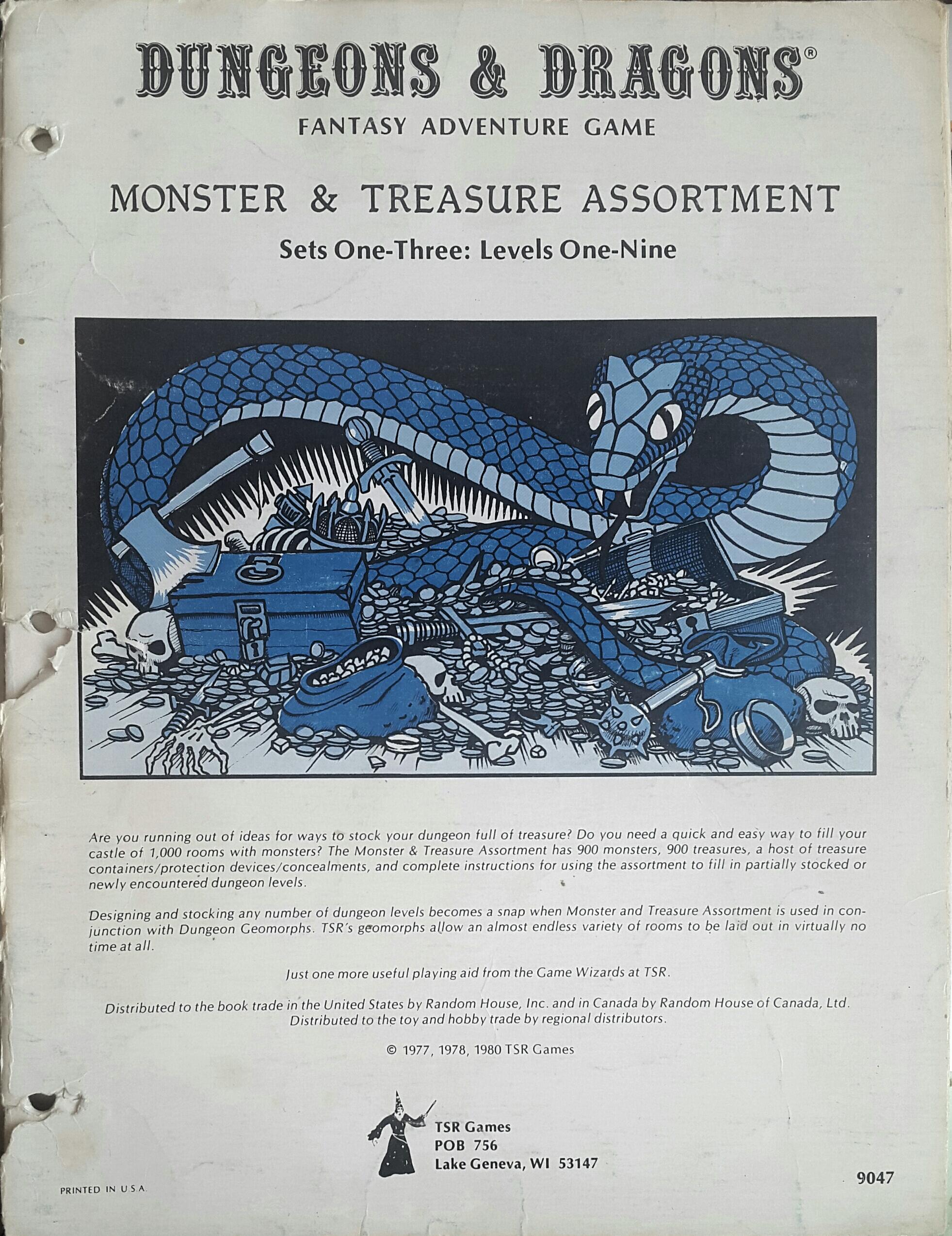 Monster & Treasure Assortment