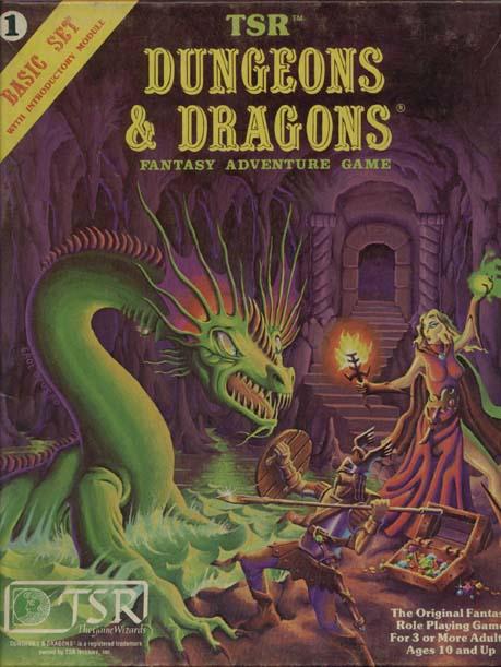Dungeons & Dragons Basic (1981)