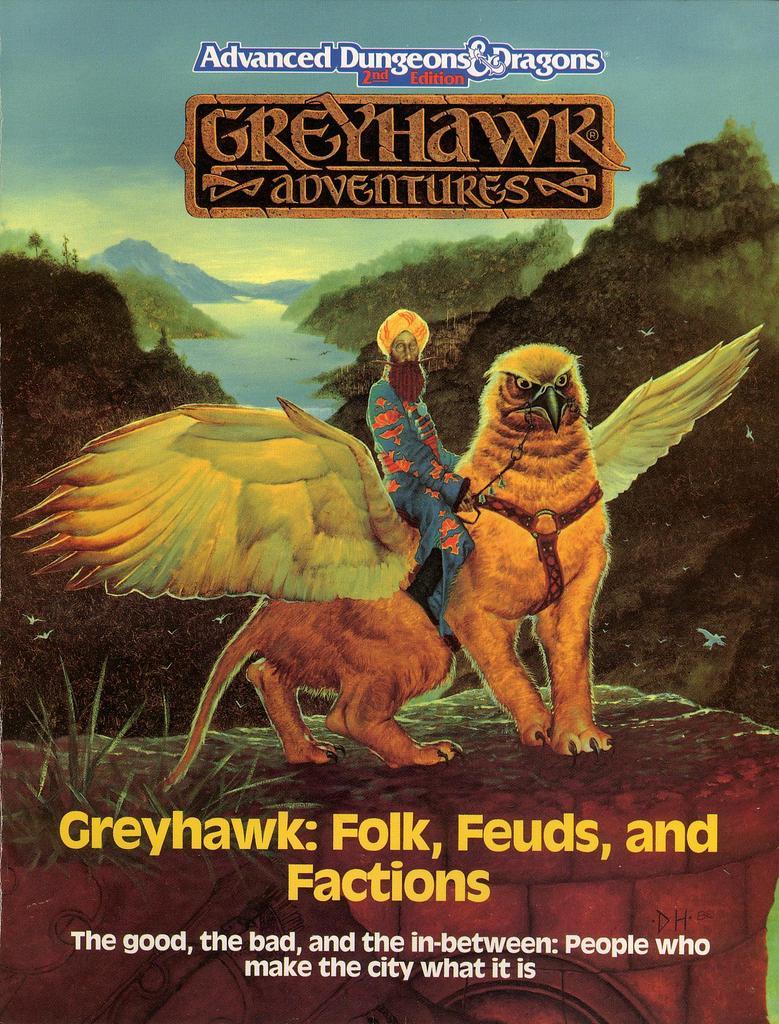 Greyhawk: Folk, Feuds, and Factions