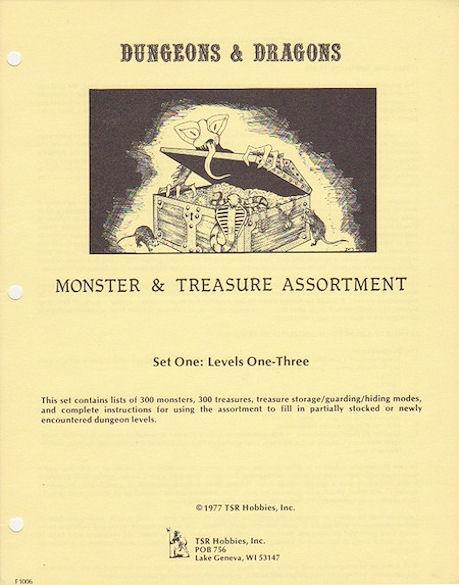 Monster & Treasure Assortment Set 1