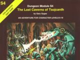 The Lost Caverns of Tsojcanth