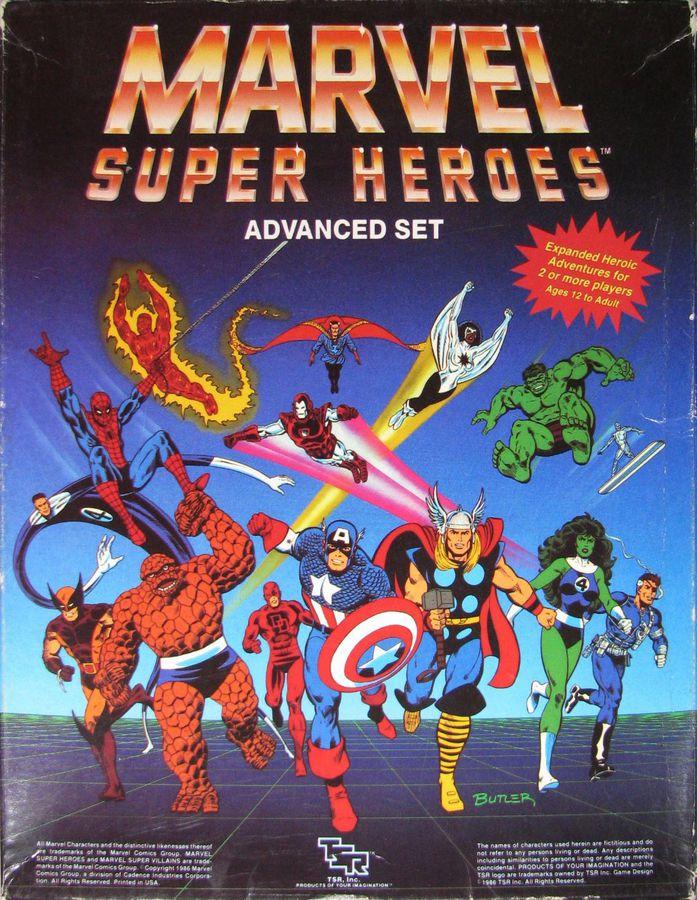 Marvel Super Heroes Advanced Set