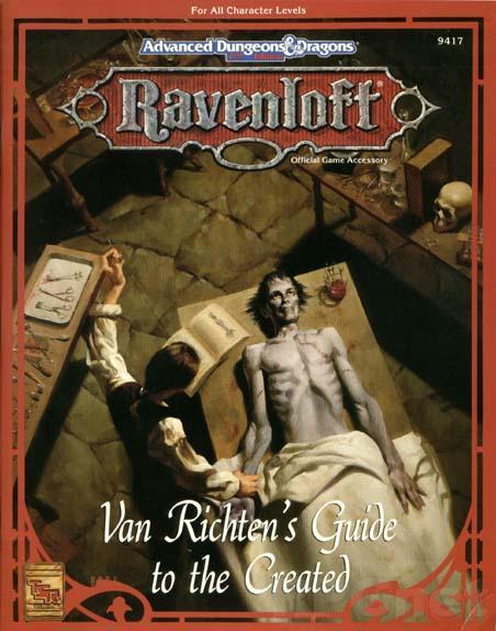 Van Richten's Guide to the Created