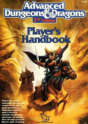 Player's Handbook (AD&D 2)