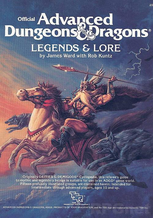 Legends & Lore (AD&D)