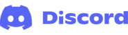 Official Discord Logo With Wordmark