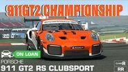 Porsche 911 GT2 RS Clubsport Championship