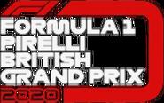 FORMULA 1 PIRELLI BRITISH GRAND PRIX 2020 flag
