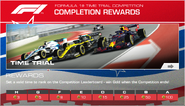 Formula 1® Time Trial Competition (CotA)