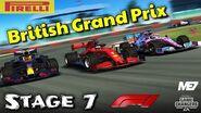 F1 British Grand Prix - Stage 7-0