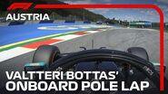 Valtteri Bottas' Pole Lap 2020 Austrian Grand Prix Pirelli