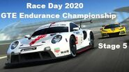 5 Race Day 2020 GTE Endurance Championship Porsche 911 RSR (2020)