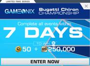 Series Bugatti Chiron Championship (v9.4)
