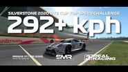 Real Racing 3 Silverstone 2020 GTE Cup Top Speed Challenge 292 kph