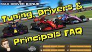 FAQ - Tuning, Drivers & Principals in RR3