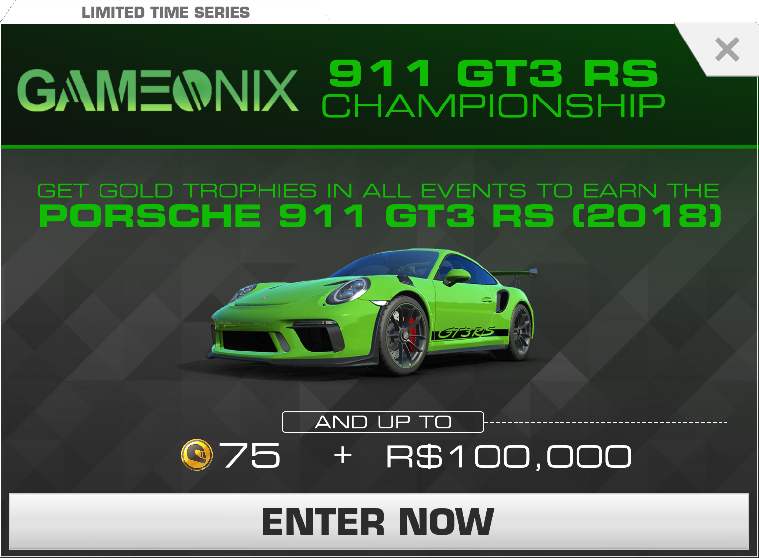 Porsche 911 Gt3 Rs Championship Real Racing 3 Wiki Fandom