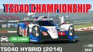 Toyota TS040 Hybrid (2014) Championship