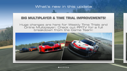 Big multiplayer & time trial improvements!