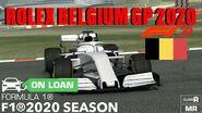 Formula 1 Rolex Belgium Grand Prix™ 2020