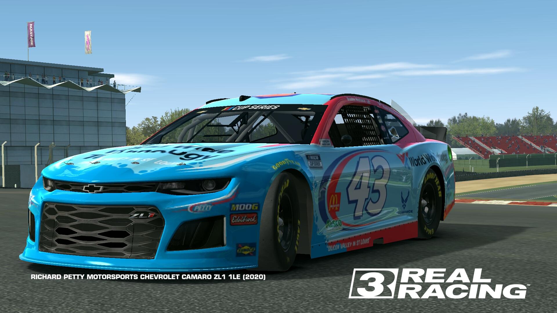 Richard Petty Motorsports Chevrolet Camaro Zl1 1le 2020 Real Racing 3 Wiki Fandom