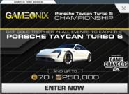 Series Porsche Taycan Turbo S Championship
