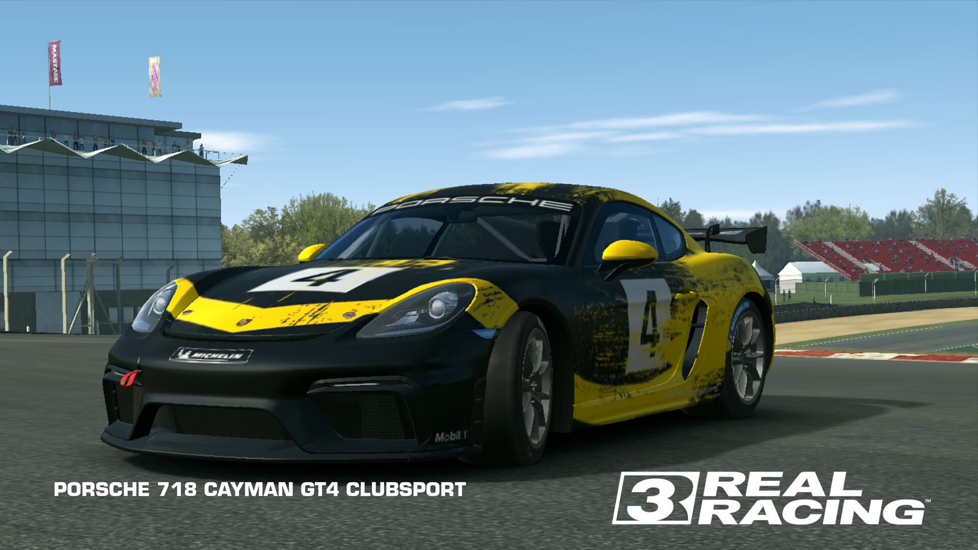 Porsche 718 Cayman Gt4 Clubsport Real Racing 3 Wiki Fandom