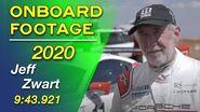 Jeff Zwart Full Run Onboard Driver Interview 2020 Pikes Peak International Hill Climb