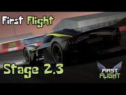 First Flight - Stage 2