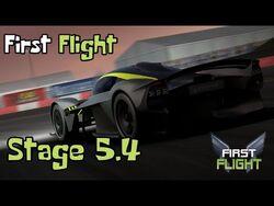 First Flight - Stage 5.4