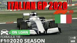 Formula 1 Gran Premio D'Italia 2020