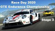 3 Race Day 2020 GTE Endurance Championship Porsche 911 RSR (2020)