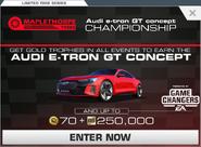 Series Audi e-tron GT concept Championship