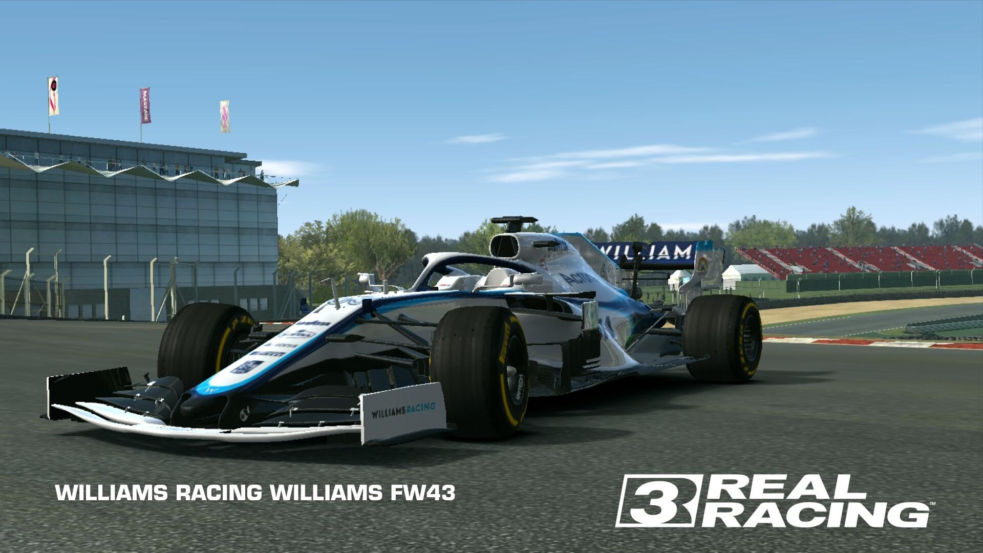 WILLIAMS RACING WILLIAMS FW21  Real Racing 21 Wiki  Fandom Regarding Blank Race Car Templates