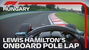 Lewis Hamilton's Pole Lap 2020 Hungarian Grand Prix Pirelli