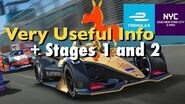 Real Racing 3 RR3 Formula E New York City e-Prix 2020 Very Useful Info, and Stages 1 and 2-1597068951
