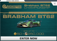 Series Brabham BT62 Championship