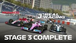 Formula 1 Monaco Grand Prix Stage 3 Complete