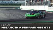 Onboard Flying laps at Misano in a Ferrari 488 GT3