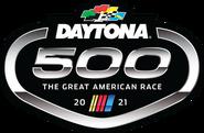 2021 Daytona 500 flag