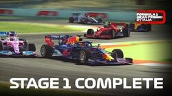Formula 1 Italian Grand Prix Stage 1 Complete & Total Costs For Event