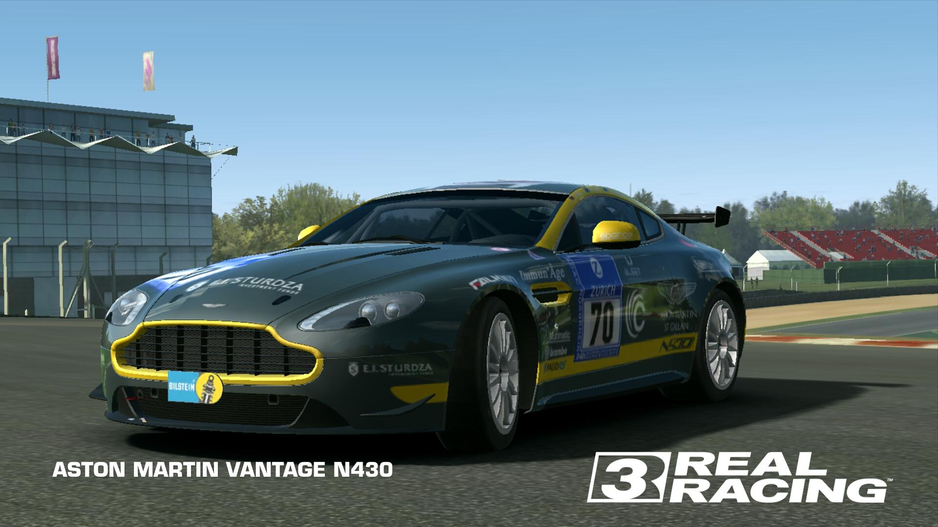 Aston Martin Vantage N430 Real Racing 3 Wiki Fandom