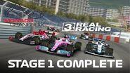 Formula 1 Monaco Grand Prix Stage 1 Complete
