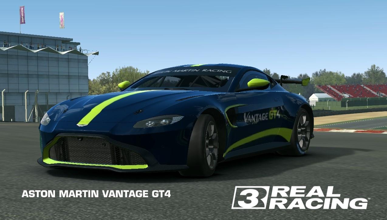 Aston Martin Vantage Gt4 Real Racing 3 Wiki Fandom