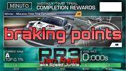 Braking points WTTT SPA Nissan GT-R LM Nismo (2015) 1 26