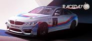Race Day BMW M4 GT4 crop