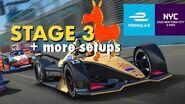 Real Racing 3 RR3 Formula E New York City e-Prix 2020 Stage 3 and More Setups