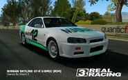 Albert Tasmani NISSAN SKYLINE GT-R V-SPEC (R34) LIVE
